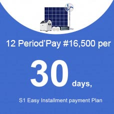 12 Period'Pay ₦16500 per 30 days, S1 Installment payment Plan