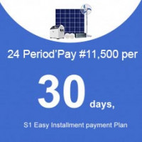 24 Period'Pay ₦11,500 per 30 days, S1 Instalment payment Plan