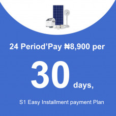 24 Period'Pay ₦8,900 per 30 days, S1 Easy Installment payment Plan