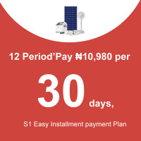 12 Period'Pay ₦10,980 per 30 days, S1 Easy Installment payment Plan